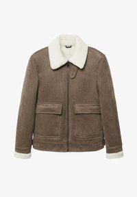 VILLA - Light jacket - mittelbraun
