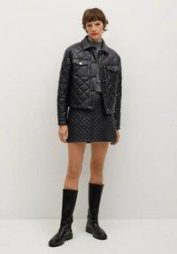 Mango - RECOCO - Winter jacket - noir - 1