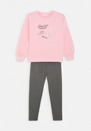 JOGGING SET - Sweatshirt - cameo pink