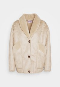 NA-KD - STEPHANIE DURANT SLANTED POCKET - Light jacket - beige - 4