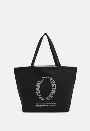 VOICES LOGO SHOPPER - Sac à main - black