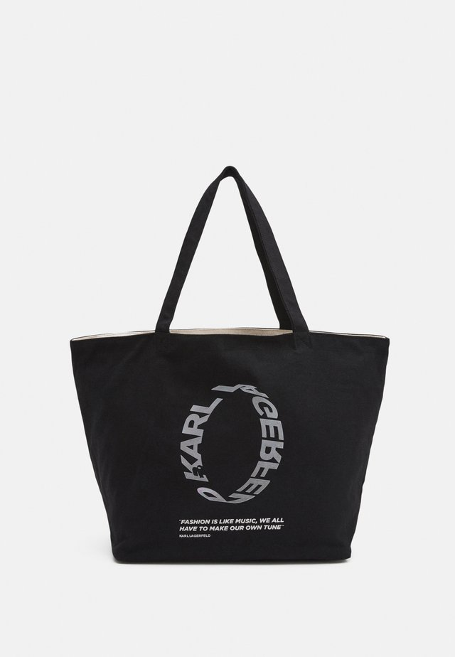VOICES LOGO SHOPPER - Kabelka - black