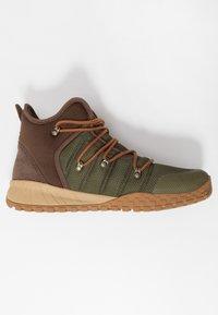 Columbia - FAIRBANKS 503 OMNI-HEAT - Walking boots - nori/dark adobe - 1