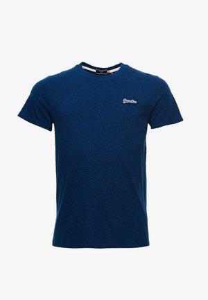VINTAGE EMBROIDERY - T-shirt print - voltage dark blue grit