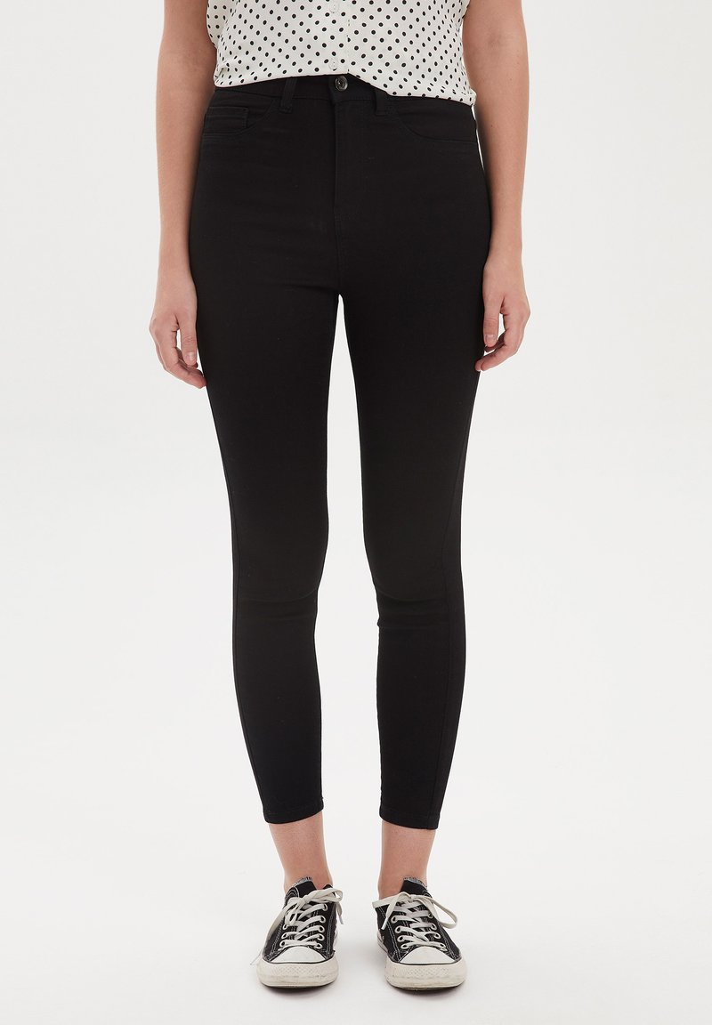 DeFacto - Jeans Skinny Fit - black
