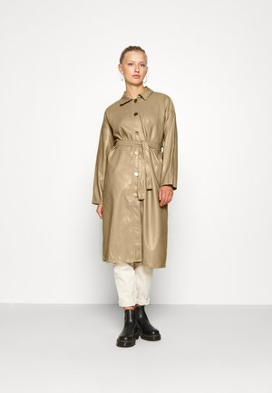 LADIES COAT - Gabardina - beige