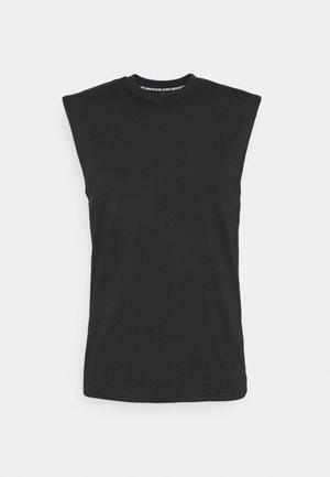 Basic T-shirt - black/scrora