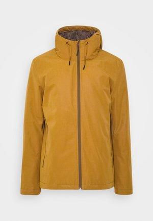 PADDED WINDBREAKER - Light jacket - brown