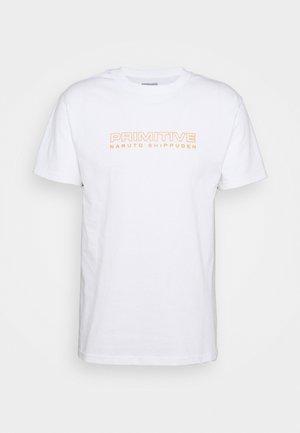 SHIPPUDEN TEE - Camiseta estampada - white
