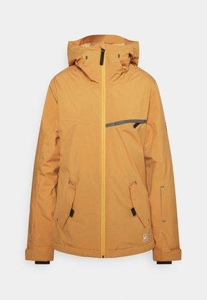 ECLIPSE - Snowboard jacket - vintage gold