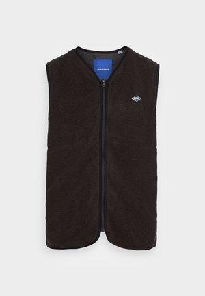JORFLINN GILET - Waistcoat - black