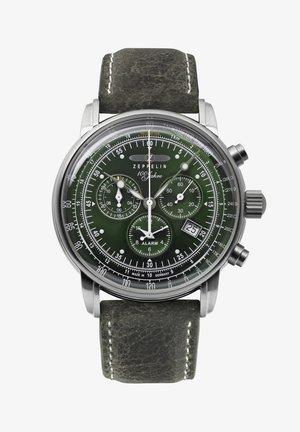 JAHRE ZEPPELIN  - Chronograph watch - green