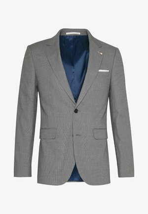SLIM GREY PINDOT - Blazer jacket - grey