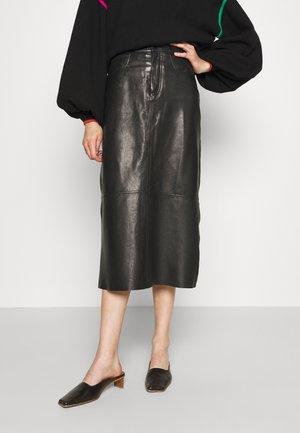 SKY - Pouzdrová sukně - black