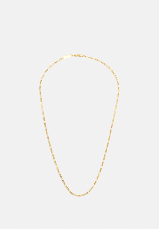 MEDIUM CHAIN NECKLACE - Naszyjnik - gold-coloured