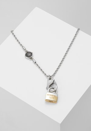 SINGLE PENDANT - Necklace - silver-coloured