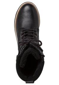 Tamaris - Cowboy/biker ankle boot - black comb - 1
