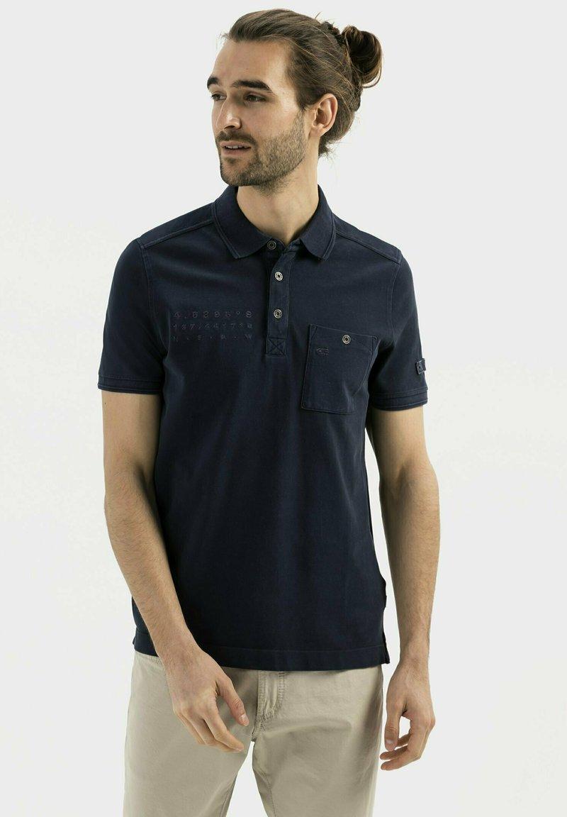 camel active - Polo shirt - dark blue