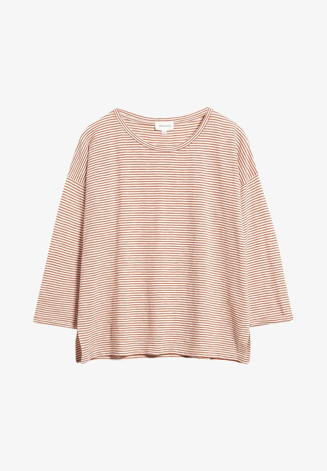 SIAA PRETTY STRIPES - Long sleeved top - starfish-off white
