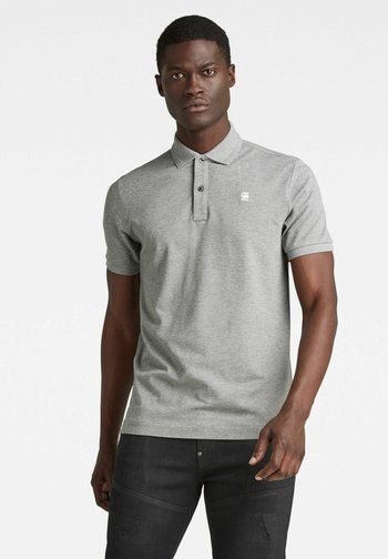 DUNDA - Polo shirt - charcoal htr