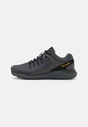 TRAILSTORM WATERPROOF - Walking trainers - dark grey/bright gold