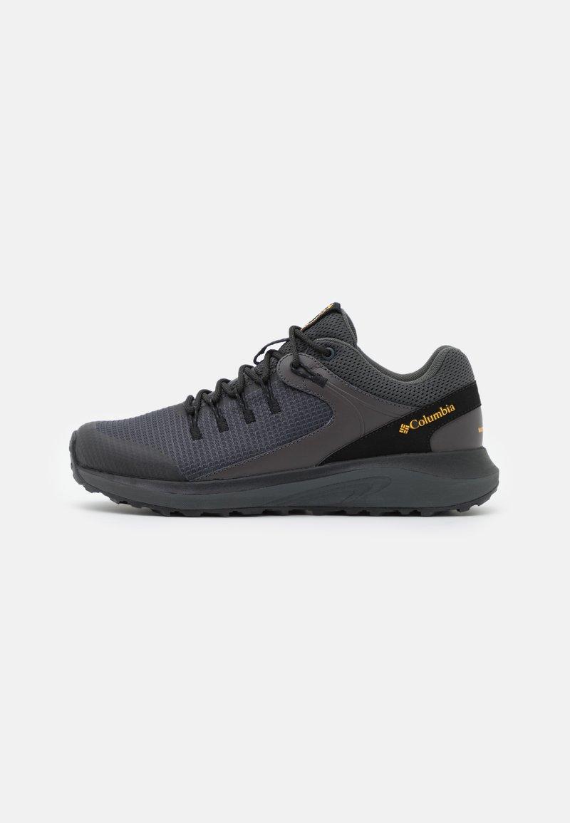 Columbia - TRAILSTORM WATERPROOF - Chaussures de course - dark grey/bright gold