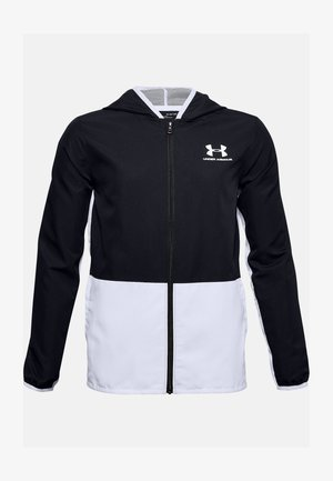 UA WOVEN TRACK JACKET - Training jacket - black