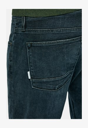 Slim fit jeans - denim new dark blue wash