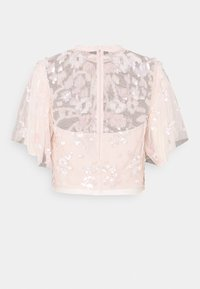 Needle & Thread - SEQUIN RIBBON TOP - Bluse - pink encore - 1