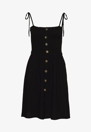 ONLANNIKA SMOCK DRESS - Day dress - black
