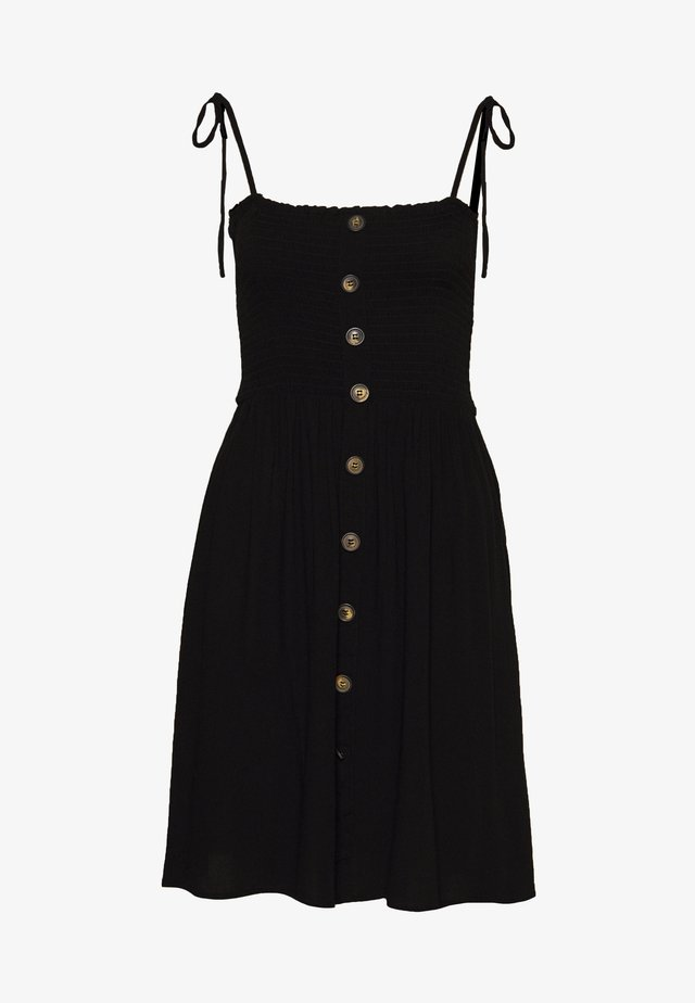 ONLANNIKA SMOCK DRESS - Freizeitkleid - black