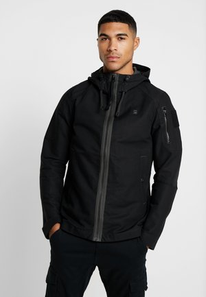 BATT ZIP STRAIGHT - Tunn jacka - black