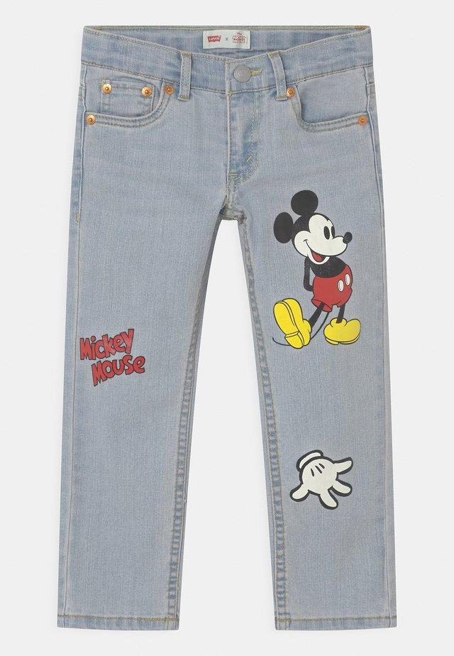 MICKEY MOUSE 511 SLIM UNISEX - Slim fit jeans - light-blue denim