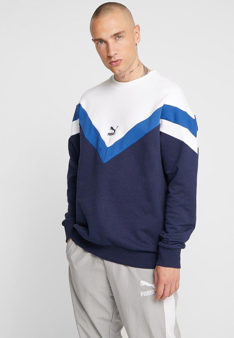 Puma - ICONIC CREW  - Sweatshirt - peacoat