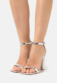 Glamorous Wide Fit - Sandalias - silver mirror - 0