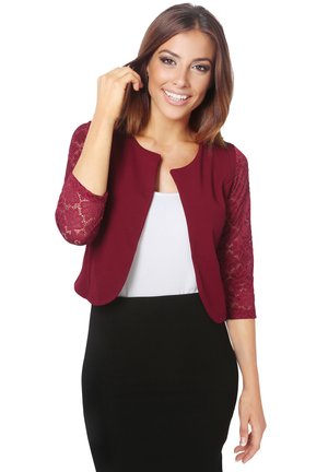 EVENING SHRUG - Blazer - wine