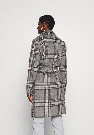 KABARAN COAT - Classic coat - grey melange