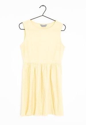 Robe d'été - yellow