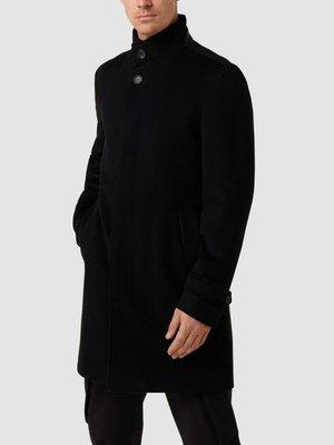 REGULAR FIT - Classic coat - schwarz