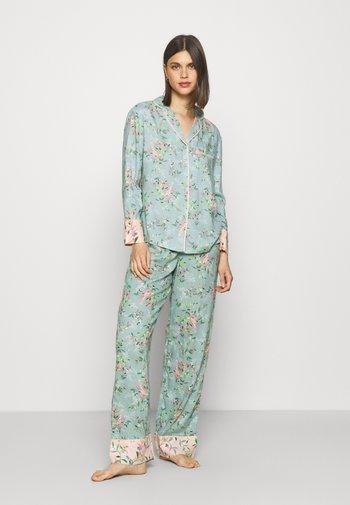 FLORAL  - Pyjamas - aqua mix