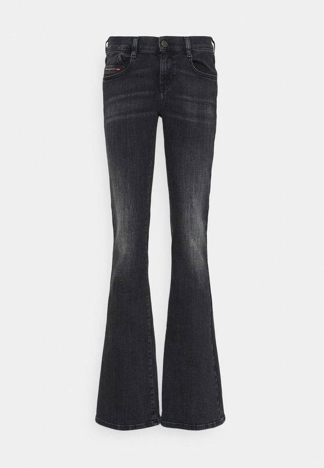 D-EBBEY - Jeans a zampa - washed black