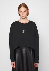 10DAYS - PRINT - Sweater - black - 0