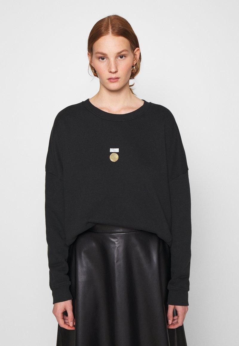 10DAYS - PRINT - Sweater - black
