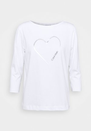 VALENTINES - Long sleeved top - bright white