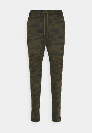 HADDONBIKER - Cargo trousers - khaki