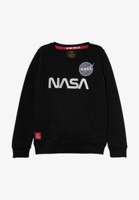 Alpha Industries - NASA REFLECTIVE - Sweatshirt - black - 2