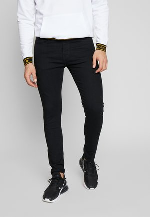 SKINNY - Vaqueros pitillo - black denim