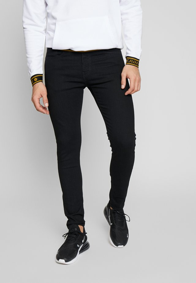 SKINNY - Skinny džíny - black denim