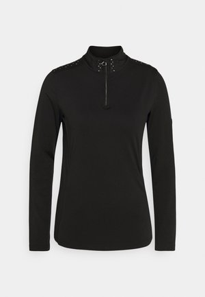 BEJEWEL CORE - Fleece jumper - black