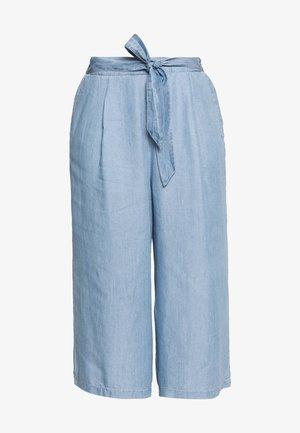 CULOTTE - Bukse - blue denim